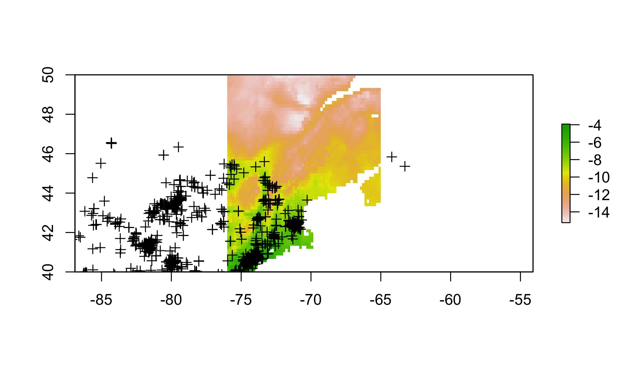Transfering Species Distribution Models